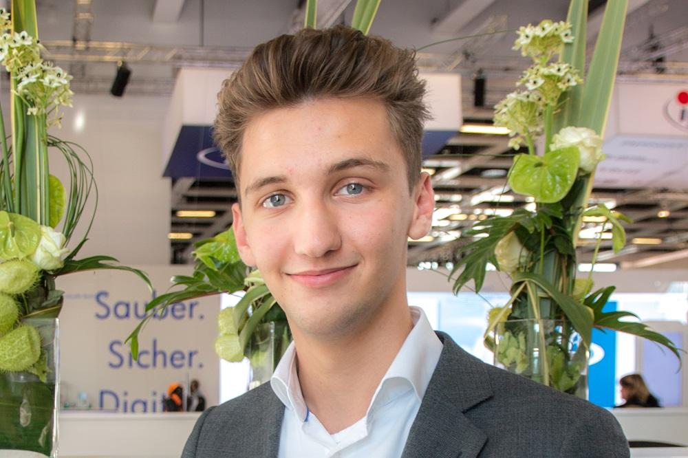 Jay Smit beursmanager Schoonmaak Vakdagen